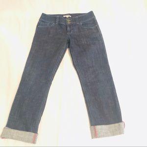 Used, Cabi Jeans Straight Leg Lou Lou Dark Wash for sale